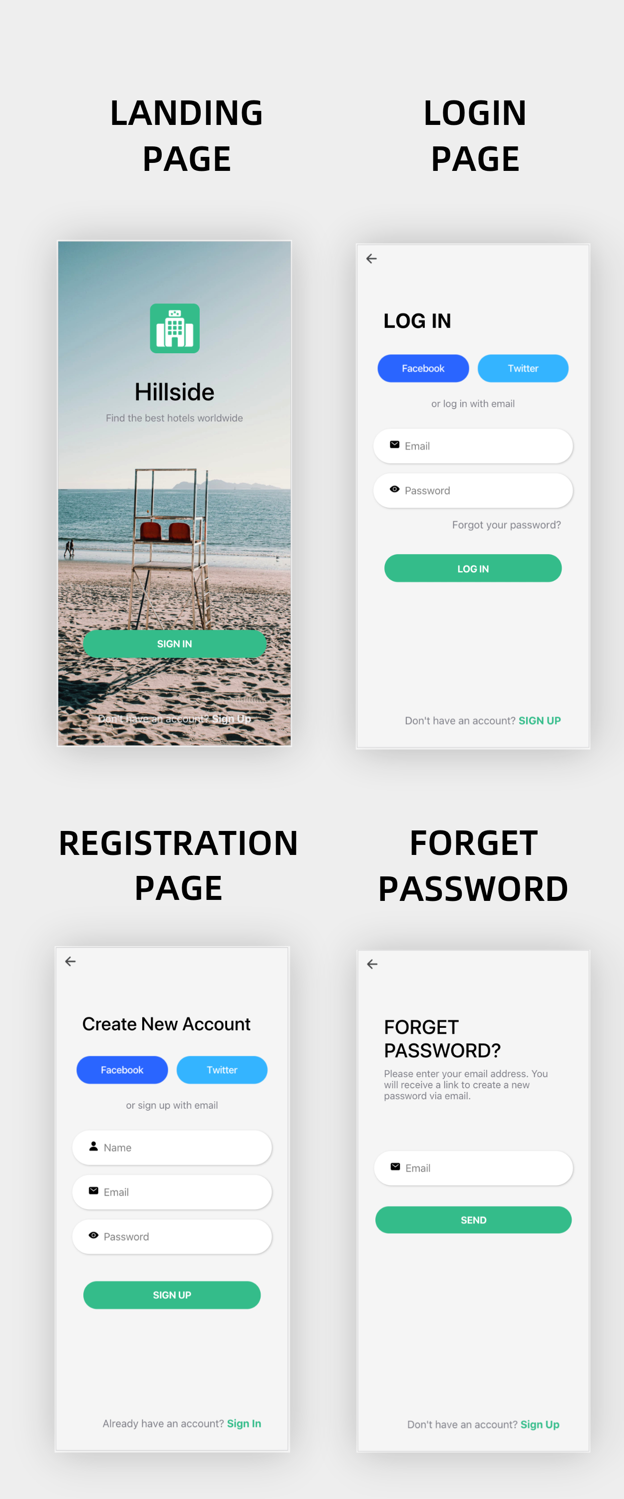 Hillside - A Hotel Booking Theme UI App By Ionic 5 Angular 9 (Latest) - 4