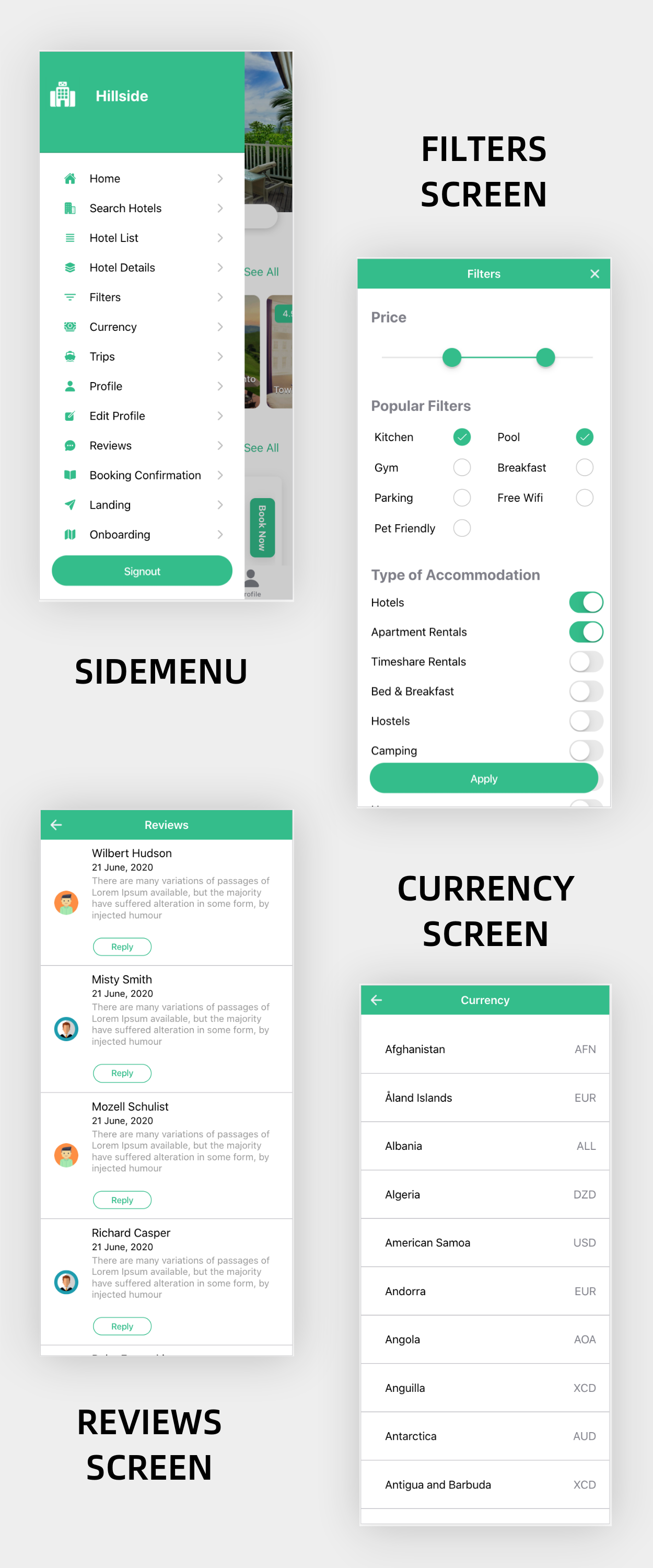Hillside - A Hotel Booking Theme UI App By Ionic 5 Angular 9 (Latest) - 7