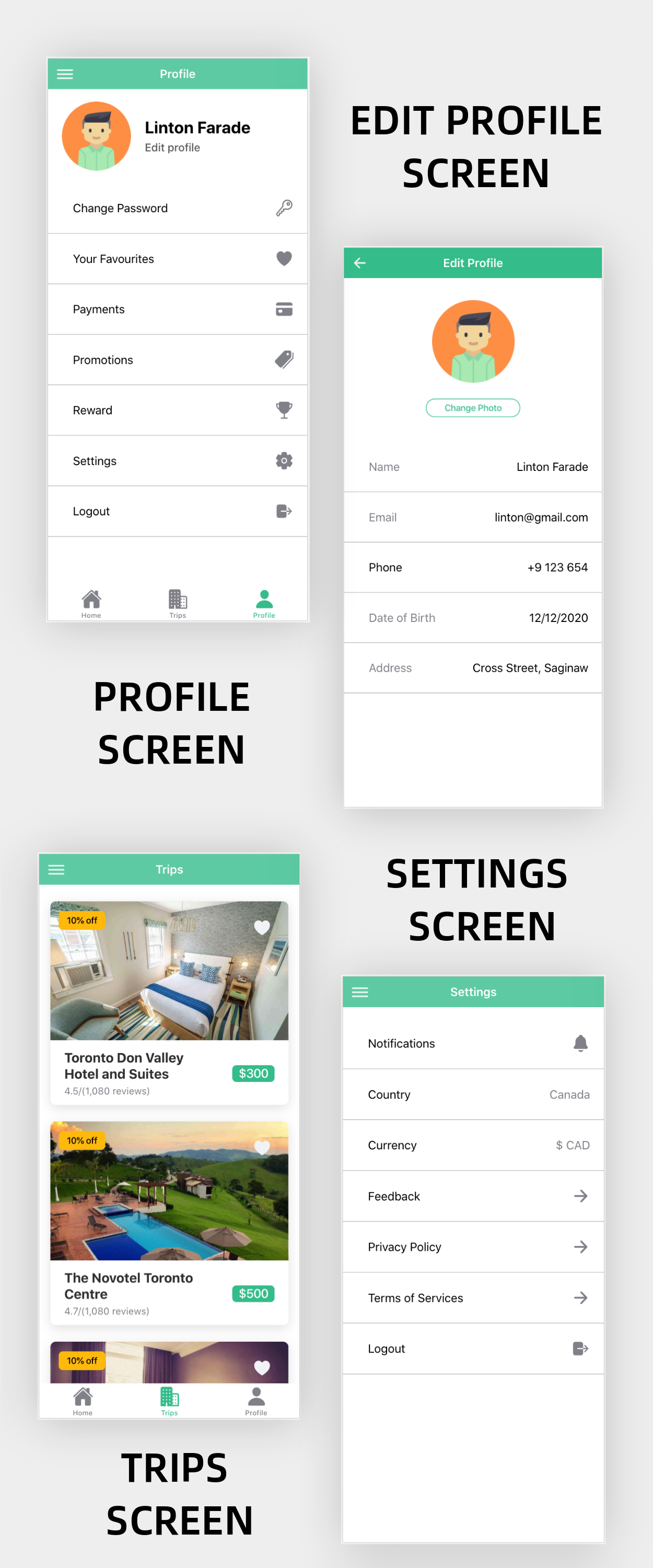 Hillside - A Hotel Booking Theme UI App By Ionic 5 Angular 9 (Latest) - 9
